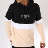 /achat-sweats-capuche/hechbone-sweat-capuche-dyl-noir-blanc-rose-poudre-148116.html