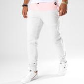 /achat-pantalons-joggings/hechbone-pantalon-jogging-avec-bandes-gat-gris-chine-148143.html