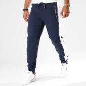 /achat-pantalons-joggings/hechbone-pantalon-jogging-avec-bandes-kin-bleu-marine-148145.html
