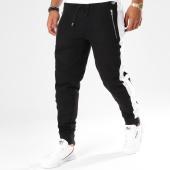 /achat-pantalons-joggings/hechbone-pantalon-jogging-avec-bandes-kin-noir-blanc-148166.html