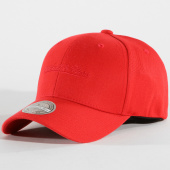 /achat-casquettes-de-baseball/mitchell-and-ness-casquette-logo-low-pro-110-rouge-148205.html
