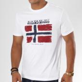/achat-t-shirts/napapijri-tee-shirt-sadrin-blanc-148243.html