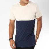 /achat-t-shirts/produkt-tee-shirt-viy-color-block-beige-bleu-marine-148201.html