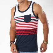 /achat-debardeurs/brave-soul-debardeur-naval-blanc-bleu-marine-rouge-148259.html