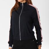/achat-vestes/only-veste-zippee-avec-bandes-femme-brilliant-sana-bleu-marine-148271.html