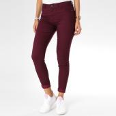 /achat-jeans/vero-moda-jean-slim-femme-seven-push-up-bordeaux-148292.html