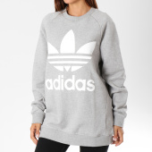 /achat-sweats-col-rond-crewneck/adidas-sweat-crewneck-oversize-femme-dh3125-gris-chine-148448.html