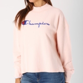 /achat-sweats-pulls/champion-sweat-femme-110980-rose-148480.html