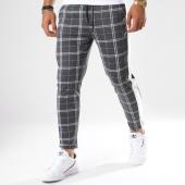 /achat-pantalons-carreaux/frilivin-pantalon-a-carreaux-avec-bandes-1379-gris-148356.html