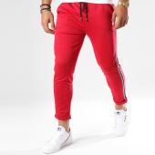 /achat-pantalons-carreaux/frilivin-pantalon-avec-bandes-1377-rouge-148358.html