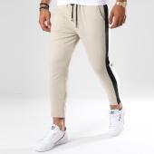 /achat-pantalons-joggings/frilivin-pantalon-jogging-avec-bandes-1393-beige-148362.html