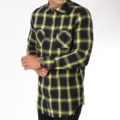 /achat-chemises-manches-longues/frilivin-chemise-manches-longues-ap1208-noir-jaune-148367.html