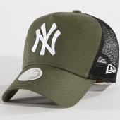 /achat-trucker/new-era-casquette-trucker-femme-league-essential-mlb-new-york-yankees-vert-kaki-noir-148388.html