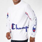 /achat-sweats-col-rond-crewneck/champion-sweat-crewneck-212374-blanc-148591.html