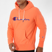 /achat-sweats-capuche/champion-sweat-capuche-212574-corail-148595.html