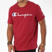 /achat-t-shirts/champion-tee-shirt-script-logo-210972-bordeaux-148601.html