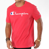 /achat-t-shirts/champion-tee-shirt-script-logo-210972-rouge-148603.html