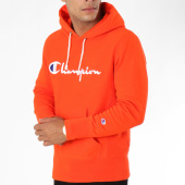 /achat-sweats-capuche/champion-sweat-capuche-212574-orange-148610.html