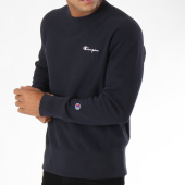 /achat-sweats-col-rond-crewneck/champion-sweat-crewneck-212577-bleu-marine-148625.html