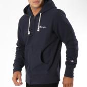 /achat-sweats-zippes-capuche/champion-sweat-zippe-capuche-212579-bleu-marine-148626.html