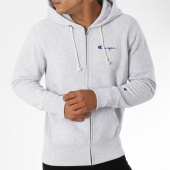 /achat-sweats-zippes-capuche/champion-sweat-zippe-capuche-212579-gris-chine-148628.html