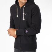 /achat-sweats-zippes-capuche/champion-sweat-zippe-capuche-212579-noir-148630.html