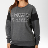 /achat-sweats-col-rond-crewneck/guess-sweat-crewneck-femme-u84a08k6xf0-gris-anthracite-chine-148584.html