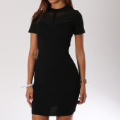/achat-robes/kaporal-robe-manches-courtes-femme-toli-noir-148527.html