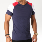 /achat-t-shirts/lbo-tee-shirt-raglan-tricolore-489-bleu-marine-148681.html