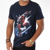 /achat-t-shirts/marvel-tee-shirt-deadpool-attack-saber-bleu-marine-148590.html