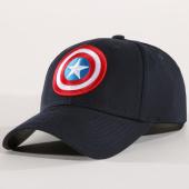 /achat-casquettes-de-baseball/marvel-casquette-captain-america-bleu-marine-148635.html