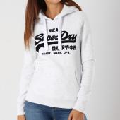 /achat-sweats-capuche/superdry-sweat-capuche-femme-vintage-logo-embross-flock-g20015tr-gris-chine-148534.html