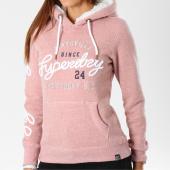 /achat-sweats-capuche/superdry-sweat-capuche-femme-aria-applique-borg-g20001ar-rose-chine-148539.html