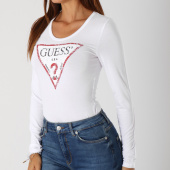 /achat-t-shirts-manches-longues/guess-body-manches-longues-femme-w84p18k7dr0-blanc-148705.html