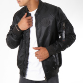 /achat-bombers/mz72-bomber-patchs-brodes-loky-noir-148768.html