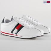 /achat-baskets-basses/tommy-hilfiger-jeans-baskets-retro-flag-em0em00182-white-148784.html