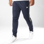 /achat-pantalons-joggings/kappa-pantalon-jogging-logo-gastone-303hse0-bleu-marine-149072.html
