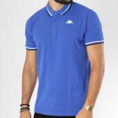 /achat-polos-manches-courtes/kappa-polo-manches-courtes-logo-esmano-bleu-clair-149062.html
