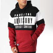 /achat-sweats-capuche/parental-advisory-sweat-capuche-block-tricolore-bordeaux-noir-148962.html