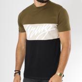 /achat-t-shirts/wrung-tee-shirt-flow-vert-kaki-ecru-noir-148966.html