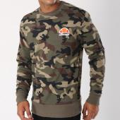 /achat-sweats-col-rond-crewneck/ellesse-sweat-crewneck-diveria-vert-kaki-camouflage-149109.html