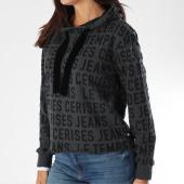 /achat-sweats-capuche/le-temps-des-cerises-sweat-capuche-femme-sophie-gris-anthracite-chine-noir-149111.html