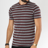 /achat-t-shirts/only-and-sons-tee-shirt-rock-stripe-bordeaux-gris-chine-149095.html