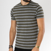 /achat-t-shirts/only-and-sons-tee-shirt-rock-stripe-vert-kaki-gris-chine-149096.html