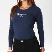 https://www.laboutiqueofficielle.com/achat-t-shirts-manches-longues/tee-shirt-manches-longues-femme-new-virginia-bleu-marine-149093.html