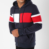 /achat-sweats-zippes-capuche/terance-kole-sweat-zippe-capuche-avec-bandes-98163-bleu-marine-149217.html