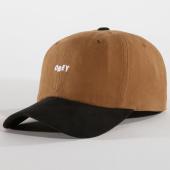 /achat-casquettes-de-baseball/obey-casquette-90s-jumble-marron-noir-149338.html