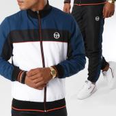 /achat-pantalons-joggings/sergio-tacchini-ensemble-de-survetement-ilan-noir-blanc-149277.html
