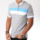 /achat-polos-manches-courtes/om-polo-manches-courtes-fan-gris-chine-149508.html