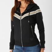 /achat-sweats-zippes-capuche/project-x-sweat-zippe-capuche-avec-bandes-femme-f183024-noir-149603.html